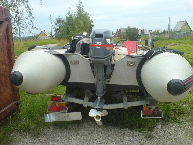 лодочный мотор Yamaha 30H.